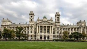 Neprajzi Muzeum in Boedapest, Hongarije royalty-vrije stock afbeelding