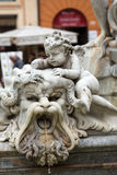 Neptun纳沃纳广场喷泉  库存图片