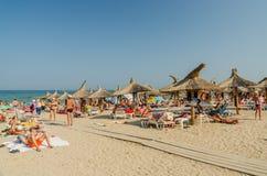 Neptun避暑胜地在罗马尼亚 免版税库存照片