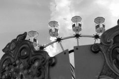 Neptun. Amusement park at Black Sea, Neptun, Romania Stock Image