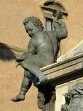 Neptun-Brunnen Lizenzfreies Stockbild