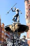 Neptun fontanna Obrazy Stock