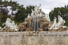 Neptun fontanna Fotografia Stock