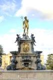 Neptun fontanna Batumi Gruzja Obraz Stock