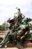 Neptun Fountain, Berlin Stock Image