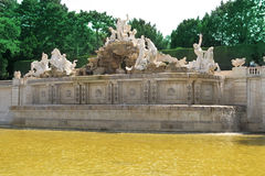 Neptun fountain Schonbrunn Palace Stock Photo