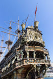 Neptun galleon Stockbild