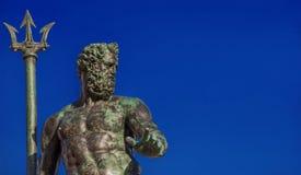 Neptun, Gott des Meeres lizenzfreie stockfotos