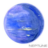 Neptun Neptunvattenfärgbakgrund vektor illustrationer