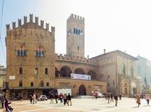 Neptun-Quadrat, Bologna Stockbilder