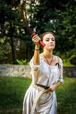 NEPTUN, ROEMENIË - JULI 28, 2015 - Oud Festival - het Weer invoeren Stock Foto's