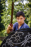 NEPTUN, ROMANIA - JULY 28, 2015 - Ancient Festival - Reenactment Stock Image