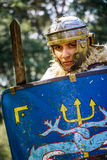 NEPTUN, ROMANIA - JULY 28, 2015 - Ancient Festival - Reenactment Royalty Free Stock Photo