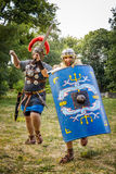 NEPTUN, ROMANIA - 28 luglio 2015 - festival antico - rievocazione Immagini Stock