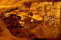 Neptun-` s Grotte in Sardinien, Italien Lizenzfreies Stockfoto
