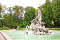 Neptun-Skulptur Lizenzfreie Stockfotos