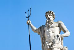 Neptun-Statue Lizenzfreies Stockfoto