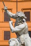 Neptun-Statue lizenzfreies stockbild