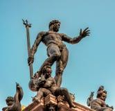 Neptun-Statue im Bologna, Italien Stockfotografie