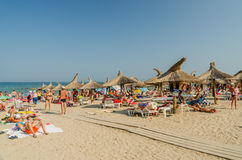 Neptun Summer Resort In Romania Royalty Free Stock Photos