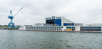 Neptun Werft Стоковое Фото