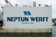 Neptun Werft Obrazy Royalty Free