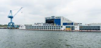 Neptun Werft Stock Photo