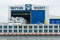 Neptun Werft Royalty Free Stock Images