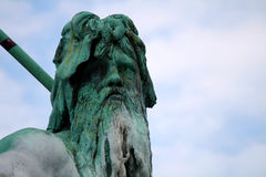Neptunbrunnen, Берлин Стоковая Фотография