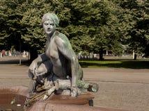 Neptunbrunnen (фонтан Нептуна) в Берлине Стоковая Фотография RF
