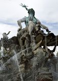 Neptunbrunnen in Berlin Stock Photos