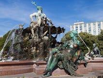 Neptunbrunnen Royalty Free Stock Image