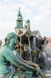Neptunbrunnen Fountaine Neptune w Berlin, Niemcy Obrazy Royalty Free