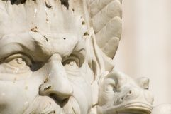 Neptune. Statue portrait, bernini rome italy Royalty Free Stock Photos