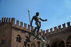 Neptune, Bologna, Italy Royalty Free Stock Photos