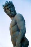 Neptune florence fontanna fotografia stock