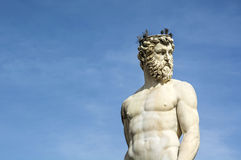 Neptune in Florence Stock Photography