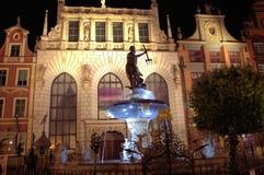 Neptune fontanna Obraz Stock