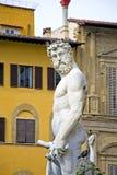 Neptune fontanna Obrazy Stock