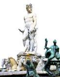 Neptune fontanna Zdjęcia Royalty Free