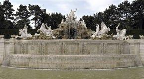 Neptune fontanna Zdjęcia Stock
