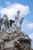 Neptune fountain. In Schoenbrunn, Vienna, Austria Royalty Free Stock Photos
