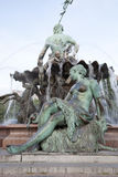 Neptune Fountain by Begas (1891), Alexanderplatz Square, Berlin Royalty Free Stock Photo