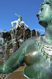 The Neptune Fountain in Berlin Royalty Free Stock Photo