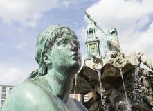 Neptune fountain Royalty Free Stock Photos