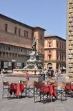 Neptune Fountain, Bologna, Italy Stock Photo