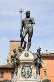 Neptune fountain, Bologna. Neptune fountain at Piazza Maggiore, unesco world heritage in Bologna, Italy stock photography