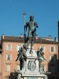 Neptune Fountain in Bologna Royalty Free Stock Photo
