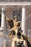Neptune Fountain, Cheltenham. Royalty Free Stock Photos