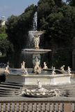 Neptune Fountain in Florence Royalty Free Stock Image